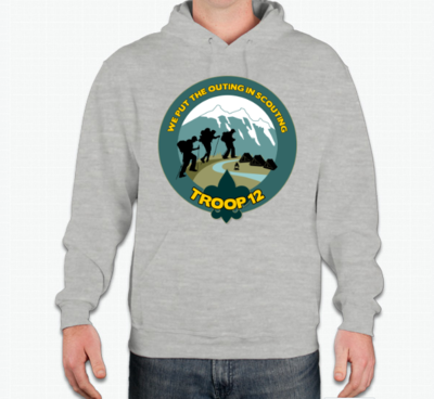 Official Troop 12 Class B Hoodie