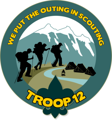 Troop 12 Sticker
