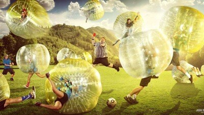 Outing Fee: Bubble Soccer!
