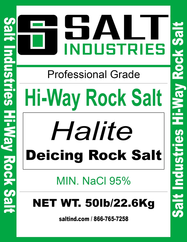 Hi-Way Rock Salt - Full Pallet