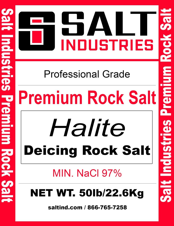 Premium Rock Salt - Full Pallet