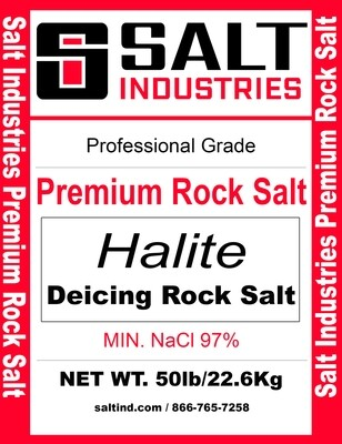 Premium Rock Salt - Full Pallet