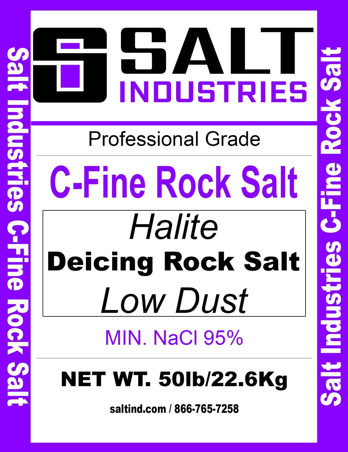 C-Fine Rock Salt - Single Bag