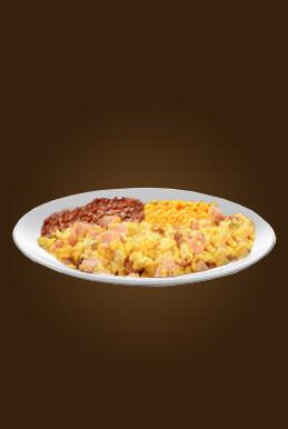Ham & Egg Plate