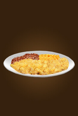 Eggs, Beans & Rice