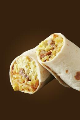 Breakfast Sausage Burrito