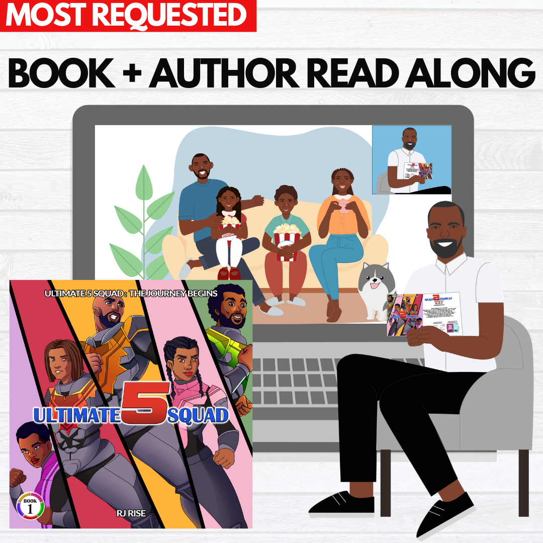Action Book + Author Read-Along with RJ Rise