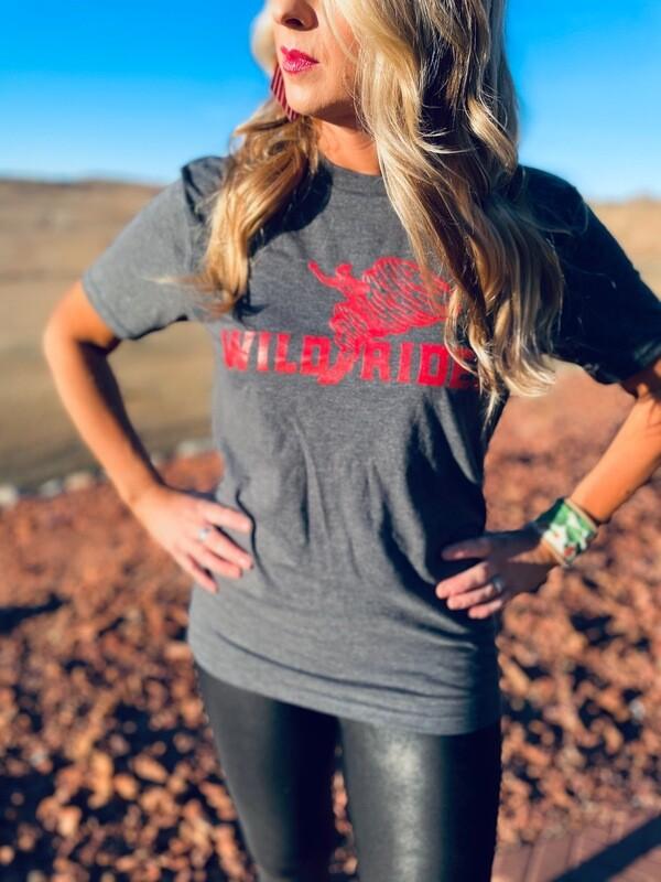Wild Rides Grey T-Shirt