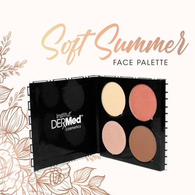 Summer Face Palette 4 Shades