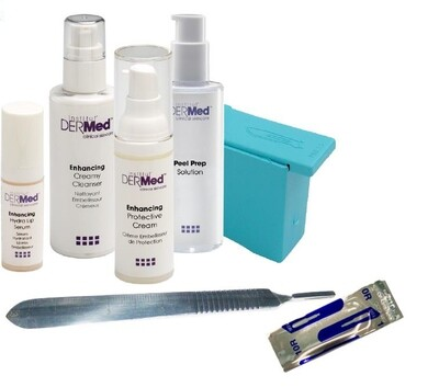 Dermaplaning Tool Kit (Professionals Only)