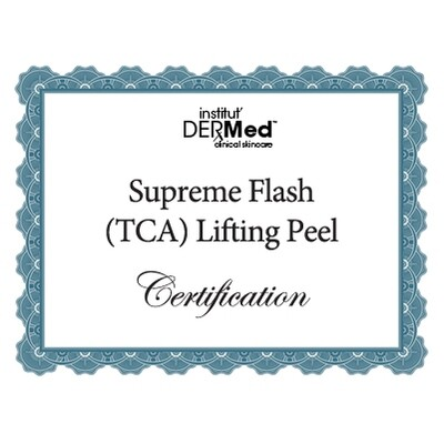 Online Supreme Flash Lifting Chemical Peel Training