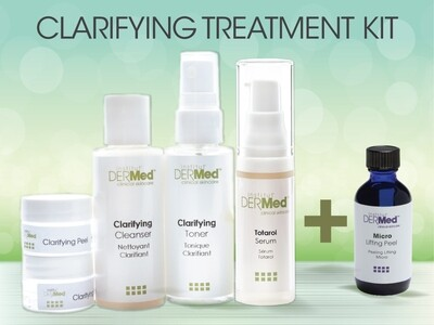 Professionals Only Clarifying Treatment Kit with Free Peel