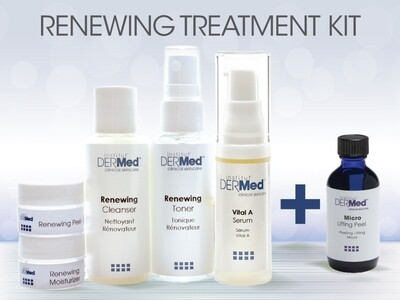 Professionals Only Renewing Kit with Free Peel