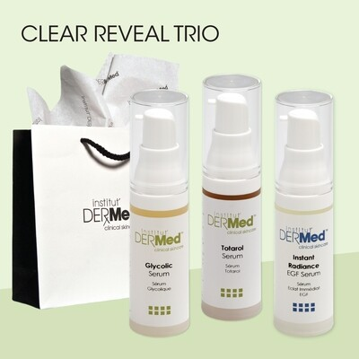 Clear Reveal Trio