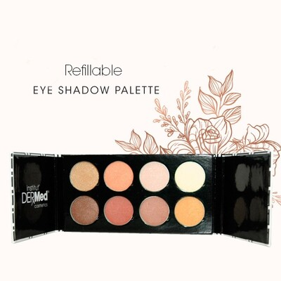 8 Well- Refillable Eyeshadow Palette