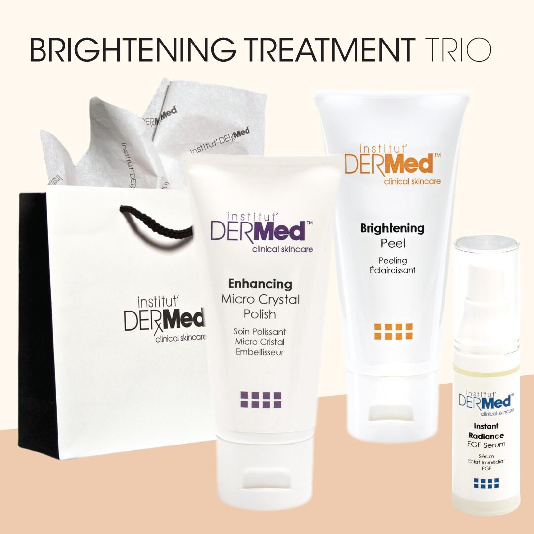 Brightening Peel Treatment Trio