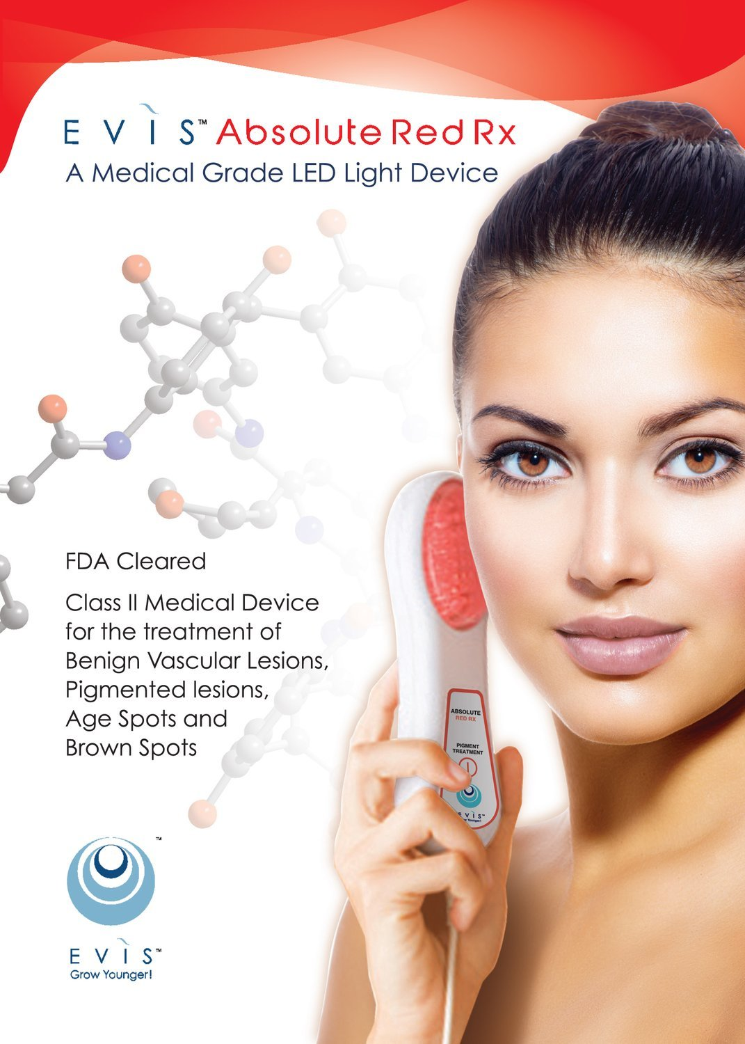 Absolute Red Rx Therapy LED Light Device