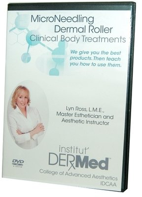Institut Dermed Microneedling Roller Treatments DVD Training