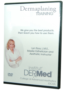 Institut Dermed Dermaplaning DVD Training