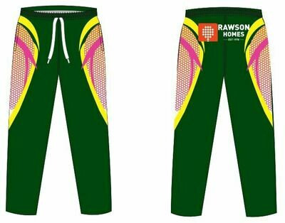 Women's Green/Pink Playing Pants