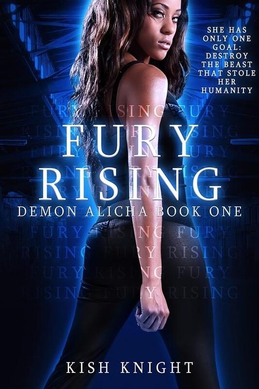 Signed Paperback - Fury Rising