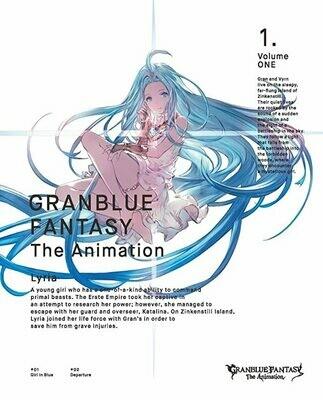 Granblue Fantasy Animation Season 1 - Serial Code Vol.1 Dark Katalina