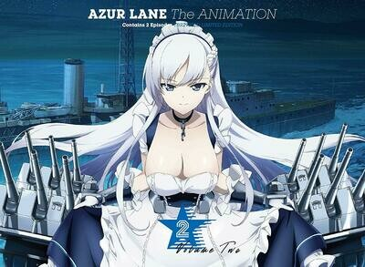 Azur Lane The Animation BD - Serial Code Vol.2