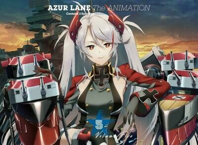 Azur Lane The Animation BD - Serial Code Vol.5 Laffey