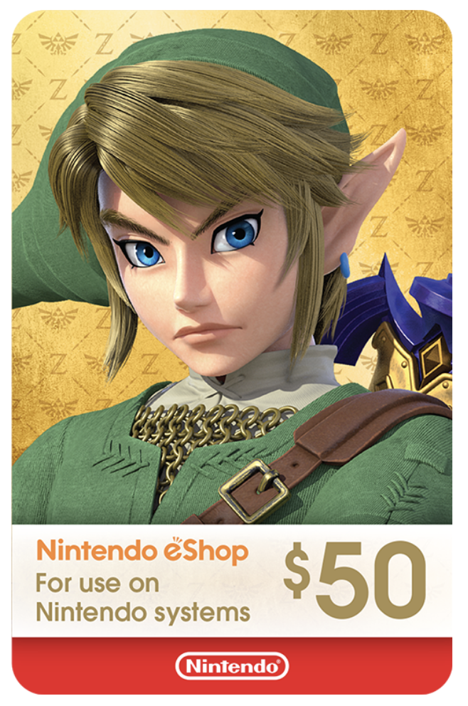 Nintendo eShop Card 50 USD North America