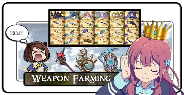 Granblue Fantasy - Weapon Grinding / Farming Service