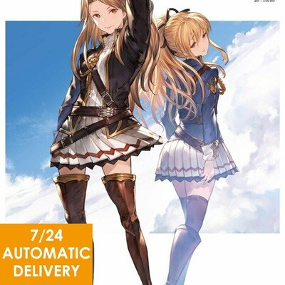 Granblue Fantasy Manga - Vol.7 Code SSR Ticket Auto Delivery