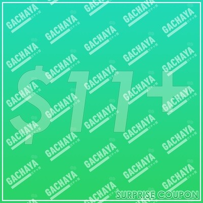 Gachaya Surprise Coupon - Green of the Calling Wind