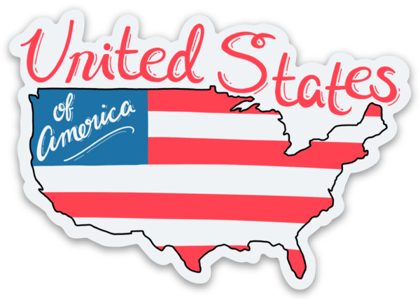United States Stickers (Options)