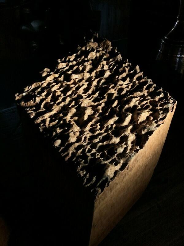 Jagged Eucalyptus Block - Fury