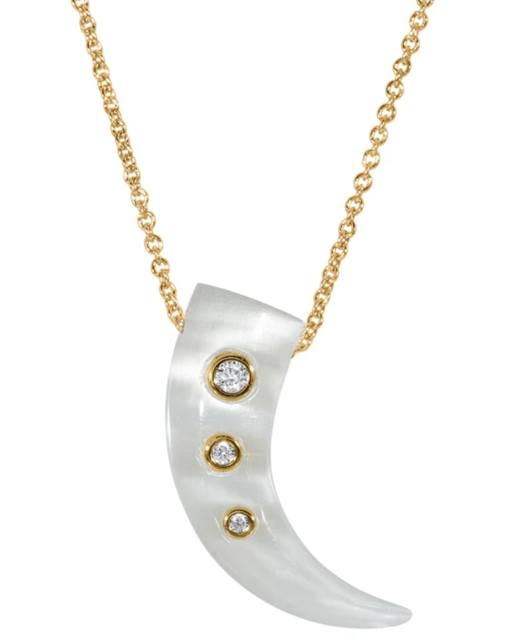 Gold Talon Pendant