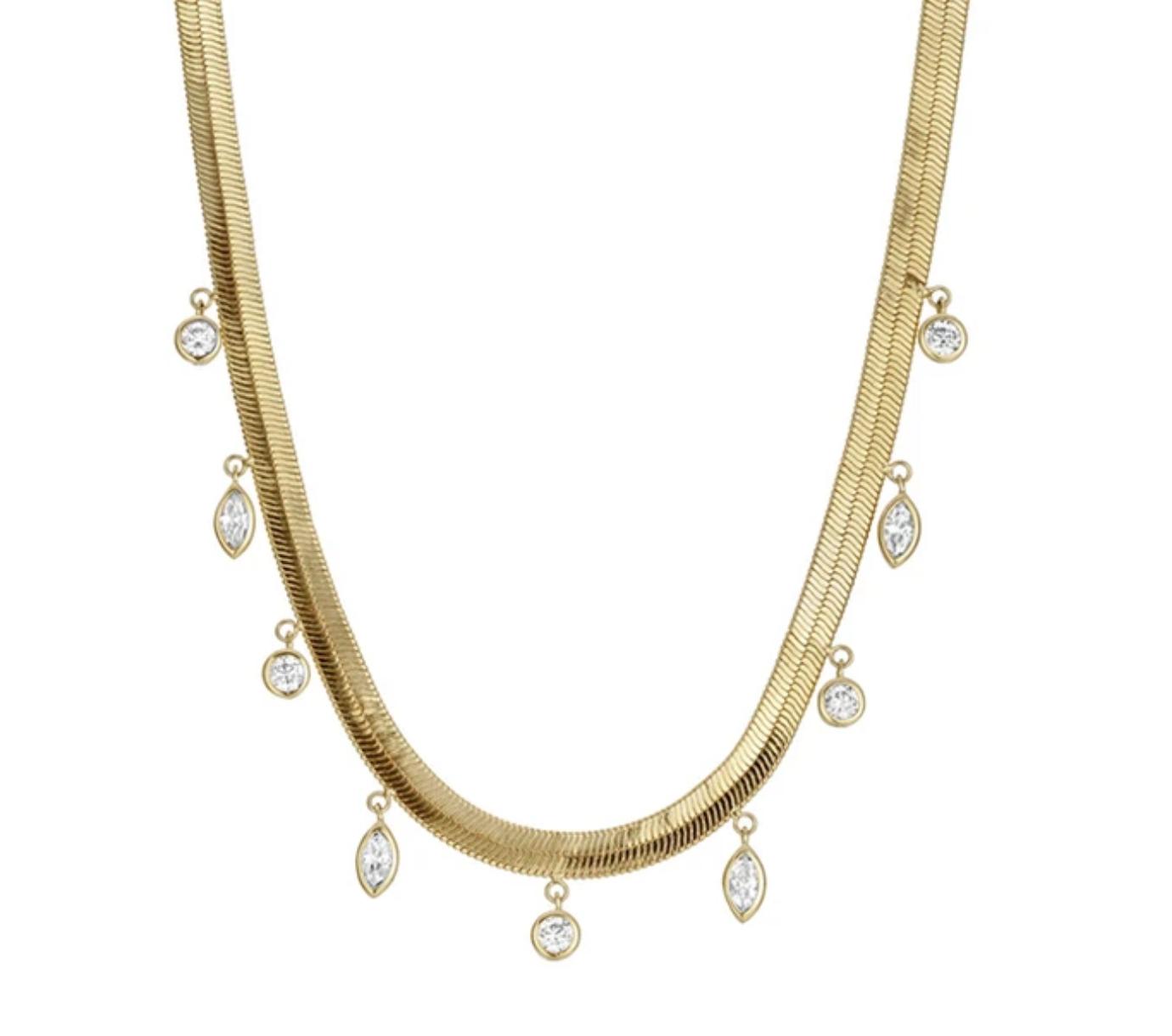 Reggie Marquise Shaker Necklace