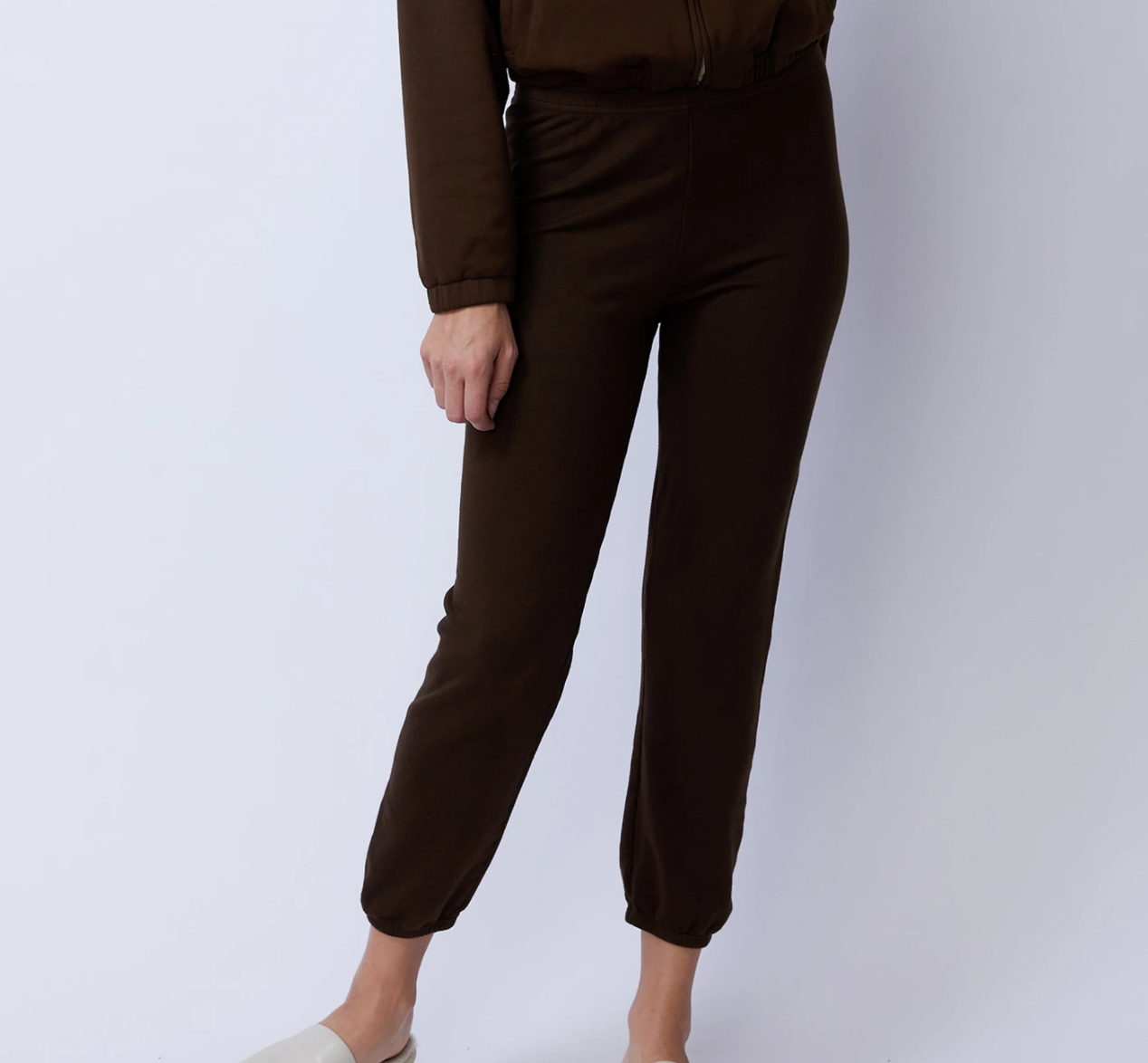 Supersoft Fleece High-Waisted Vintage Sweats