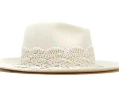 The Jasmine Lace Hat
