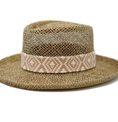 The Alice Woven Hat