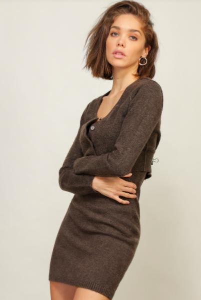 Heaven Sweater Dress/Cardi