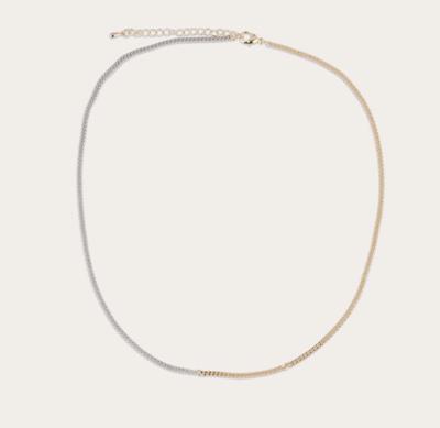 Ashley Two-Tone Necklace