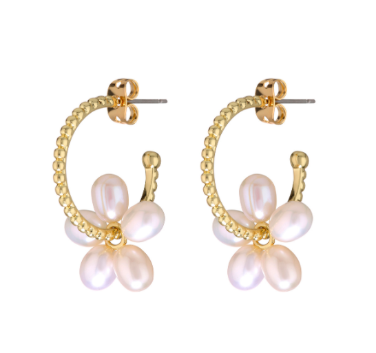 Pearl Washer Hoops