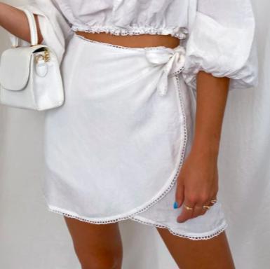 Iva Wrap Skirt