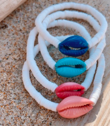 Colored Pukas Bracelet