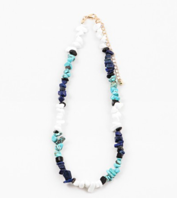 Turqouise Chip Stone Necklace