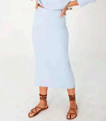 The Classic Rib Skirt