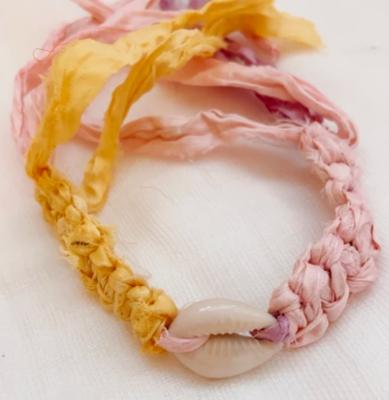 Lolli Shell Fabric Bracelet