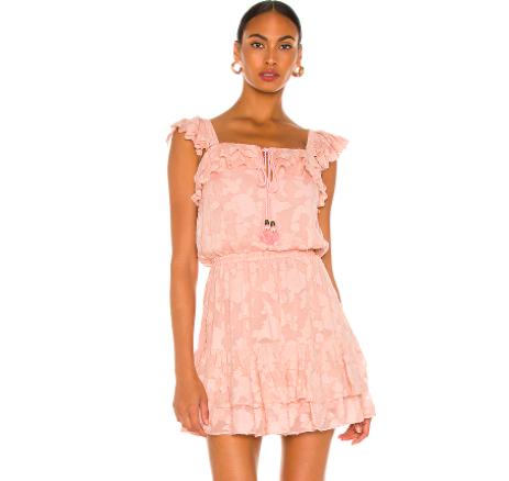 Fantasia Jacquard Mini Dress