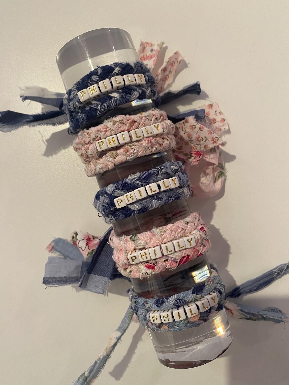 Shabby Philly Wrap Bracelet