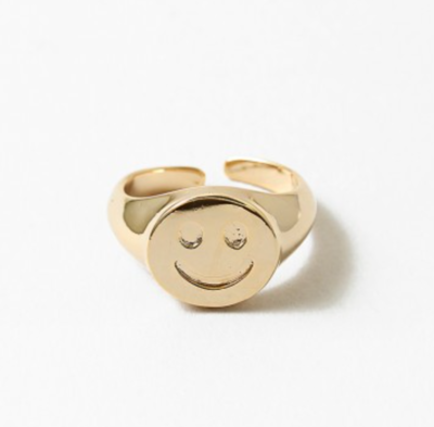 Smiley Face Ring